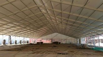 China 40M Clear Span Conference Event Tent with AC System and Luxury Carpet for more then 800 People supplier