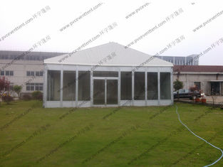 China ABS Sidewalls PVC Event Tent 9 x 9m , PVC Roof Cover Outdoor Tent Cover Waterproof supplier