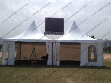 China 4 x 4m / 5 x 5m Pagoda Marquee Tent Modules Church Windows For Outdoor Party supplier