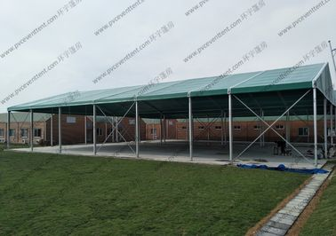 China Green Roof Cover Aluminum Canopy Tent Garden Soft PVC Walls For Outdoor Sport Event supplier