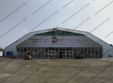 China ABS Sidewalls Large Polygon Tent 30m Width supplier