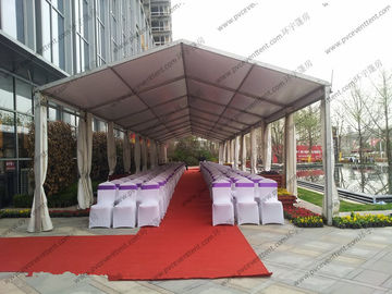 China Temporary Movable Large Outdoor Canopy Tent Zinc Safe Powder Coated Steel Connect supplier