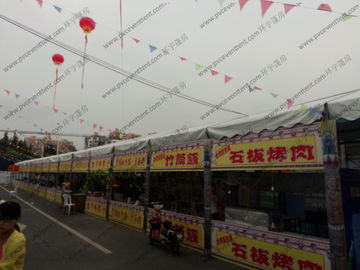 China 40m Width Dome Big Event Tents For Special Snack Food Festival Celebration supplier