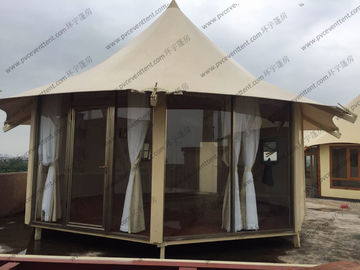 China Special Heavy Duty Outdoor Party Tents Roof Lining No Limited Length For Temporary Use supplier