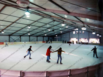 China 100% Available Interior Space Outdoor Event Tent With Decoration For Skating Rink supplier