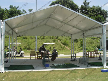 China Small Size Outdoor Event Tent Transparent Cover Tear Resistant For Golf Course Rest supplier