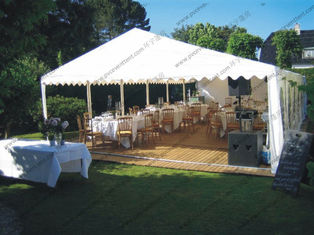 China Garden Grass PVC Event Tent White Curtain ABS Hard Wall For Party Activities supplier