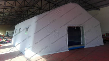 China White PVC Outdoor Event Tent , Easy Installed Inflatable Large Tents For Outdoor Events supplier