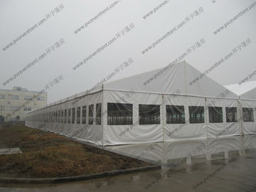 China Outdoor Fire Proof Clear Roof Marquee Movable Heavy Duty For Entertainment Space supplier