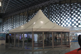 China φ10M Six Sides Pagoda Party Tent Temporary Aluminum Frame For Shanghai Exhibition supplier