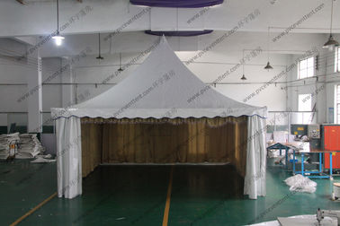 China Aluminum Structure High Peak Tents 6m x 6m , Free Span Space High Peak Pole Tent supplier