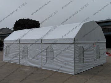 China Open Sidewalls Arcuate Outdoor Event Tents Clear Top 6 x 9m Width UV Resistant supplier