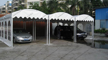 China Transparent Sidewalls Custom Event Tents 3 x 6m / 6 x 6m For Car Parking supplier