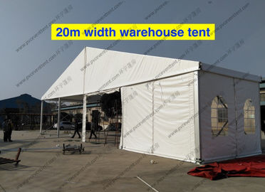 China 20m Clear Span Width Outdoor Storage Tent Waterproof For Industrial Storage supplier