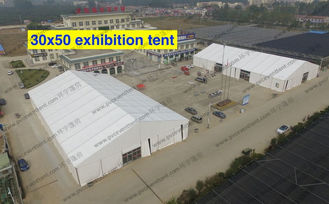 China Giant Outdoor Exhibition Tents , Special Event Tents Waterproof Cover For Outside Exhibition supplier