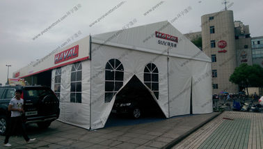 China Movable PVC Fabric Outdoor Exhibition Tents Aluminum Frame Waterproof Temporary supplier
