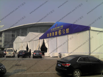 China Fire Prevention Art Show Tents 25 x 90m Colorful Cover Automatic With Rolling Shutter supplier