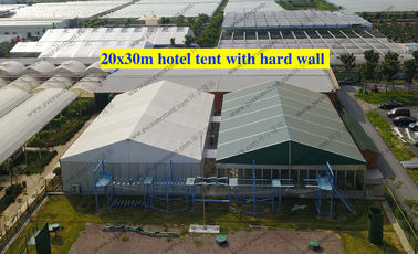 China Waterproof Largest Marquee Tent 20*30M Aluminum Frame Structure For Outdoor Event as Hotel supplier