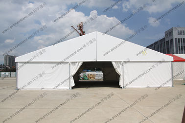 China Easy Installed Hajj PVC Event Tent 15 x 15m Portable White Waterproof supplier