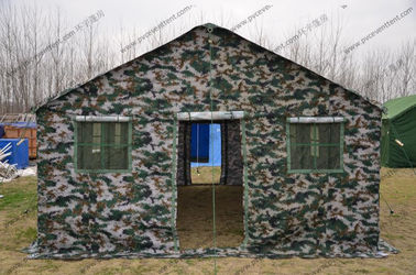 China 4x6M Camouflage Military Army Tube Tent Easy To Install And Disassemble supplier