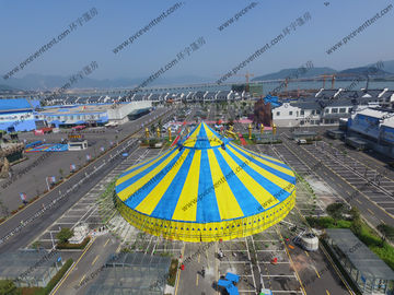 China Yellow And Bule Dia 40m Outdoor Circus Tent For Celebration Of Festivals Or Ceremony supplier