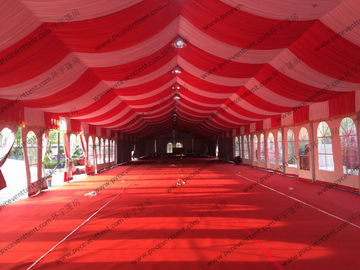 China Windproof Luxury Waterproof Wedding Event Tents For Temporary Or Rental Use supplier