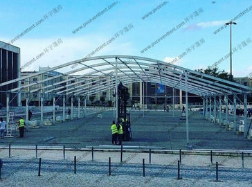 China Customized Made Wedding Celebration Large Party Tents With Glass Sidewalls supplier