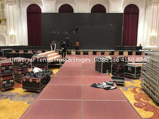 China Portable Wedding Used Movable Stage Lighting Truss For Outdoor Event And Party supplier