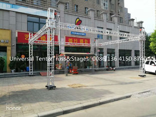 China Heavy Loading Durable Aluminum Stage Lighting Truss With Screw Or Spigot Type supplier