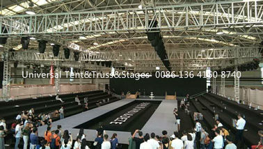 China Aluminum Frame Stage Lighting Truss Structure / Event Spigot Bolt Exhibition Truss supplier
