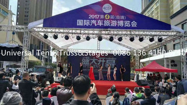 China Portable Aluminum Lighting Truss , Spigot Truss For Stage , Light Weight supplier