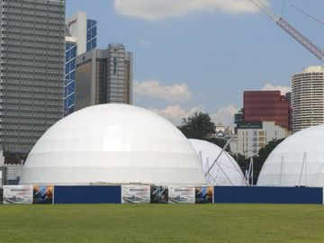 China Concern Circus Large Giant Geo Dome Tent Event Transparent Party Shelter supplier