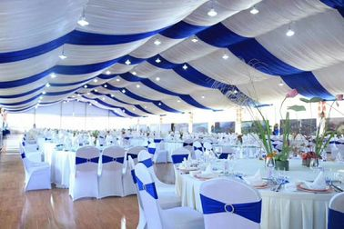 China Luxury Marquee Outside Wedding Tents Banquet Hall Tent For Event Parties supplier