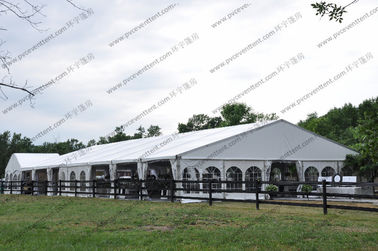 China Aluminium Structure Clear Roof Canopy Party Tent Marquees For Wedding supplier