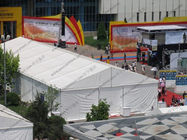 China 15 x 35m Outdoor Exhibition Tents , More Than 500 People Capacity Trade Show Tents factory