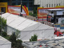 15 x 35m Outdoor Exhibition Tents , More Than 500 People Capacity Trade Show Tents
