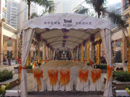 Environment - Friendly Polygon Tent Module Small Size For Outdoor Parties / Ceremony