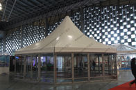 φ10M Six Sides Pagoda Party Tent Temporary Aluminum Frame For Shanghai Exhibition