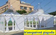 Re - Locatable Miniature High Peak Canopy Aluminum Frame With Optional Sidewalls