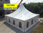 10m x 10m Clear Span Tent High Peak Church Windows Multi - Role For World Expo Show