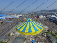 China Yellow And Bule Dia 40m Outdoor Circus Tent For Celebration Of Festivals Or Ceremony factory