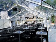 A Shape Aluminum Frame Wedding Event Tents Church Banquet White PVC Fabric