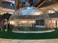 China Durable Waterproof Geodesic Dome Tent For Big Temporary Events And Functions factory