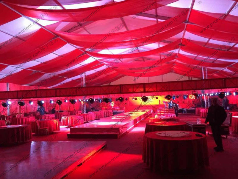 wind resistant large canopy tent for wedding waterproof outdoor white aluminum