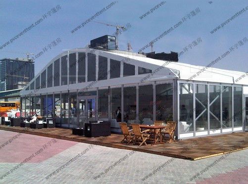 30M X 45M Outdoor Function Catering Tent , UV Resistance Wedding