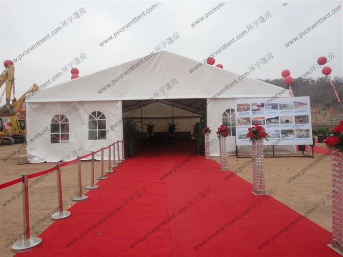15m Aluminum Structure Outdoor Event Tent , Huge Canopy Tent For Outdoor Cenemony
