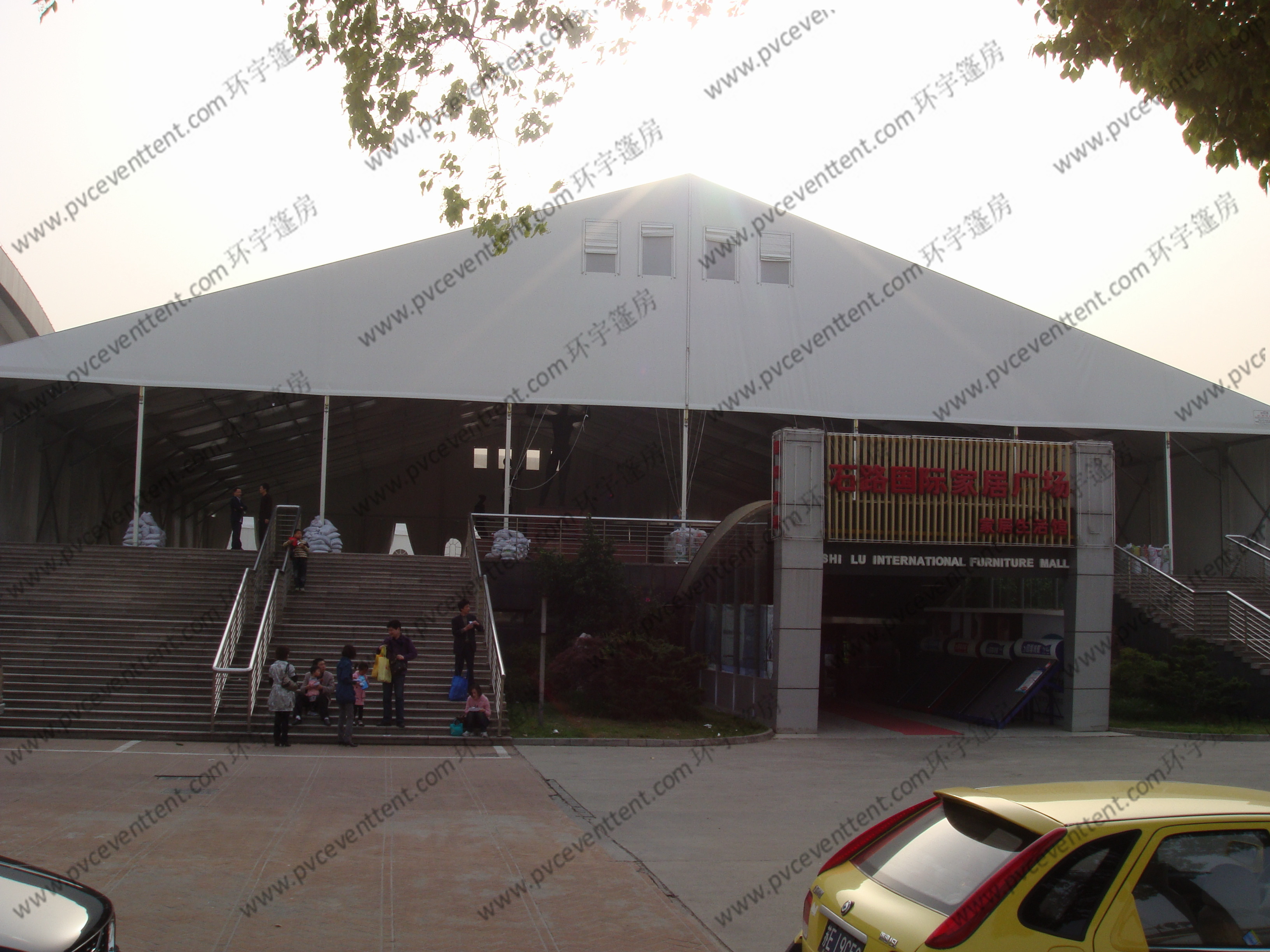 Waterproof Outdoor Exhibition Tents 40 x 60m , Trade Show Canopy On Special Floor