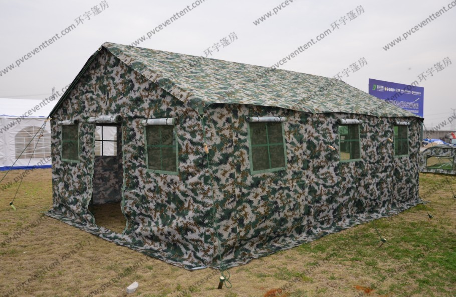 4 x 6m Military Army Tent Camouflage