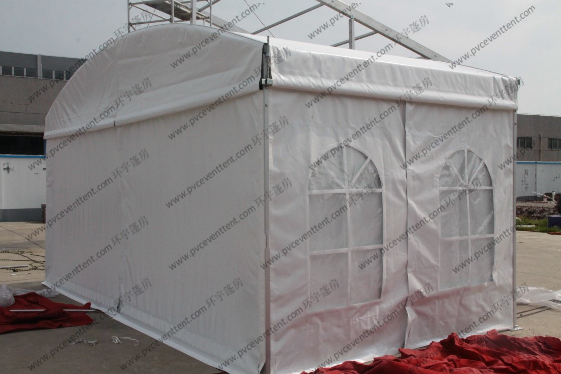 Aluminum Frame Polygon Tent Small Size , Warehouse Dome Tent For Exhibitions