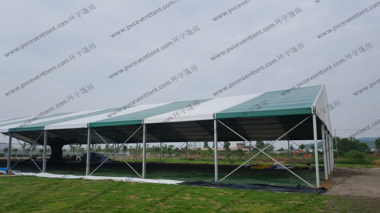 Colorful A Shape Outside Events for Farm with no sidewalls in the Garden or Park